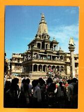 NEPAL VINTAGE  POSTCARD BHIM RATNA HARSHA RATNA-NEW HOTEL CRYSTAL--POKHARA