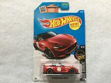 Red 15 Mazda MX-5 Miata Night Burnerz   Hot Wheels