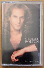 Michael Bolton - The One Thing Music Cassette