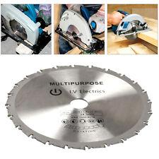 New Expert Circular Saw Blade Disc 210mm 25.4mm Bore 24T Ring Chop Mitre Cutting
