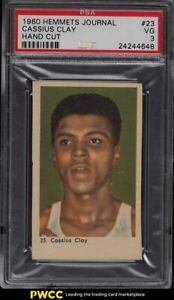 1960 Hemmets Journal Boxing Cassius Clay Muhammad Ali ROOKIE RC #23 PSA 3 VG