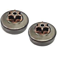 New Set of 2 OEM Sears Poulan Craftsman Chainsaw Sprocket Clutch Drum 530057905