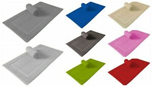 100% Cotton Modern Toilet Bathroom Toweling Mat 50x70 cm Soft&Absorbent Bath Mat