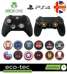 2x Rubber Analog Thumb Stick Cover Cap Grips for PS4 & Xbox One