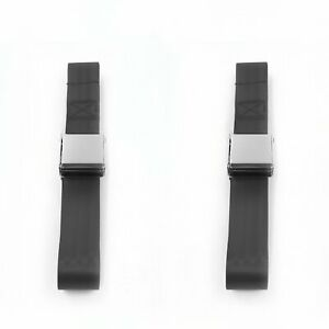 Early Cars 1928 - 1932 Airplane 2pt Charcoal Lap Bench Seat Belt Kit - 3 Belts