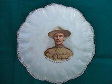 Antique Lieut. Col. R.S.S. Baden-Powell Hero of Mafeking Ceramic Plate 1900