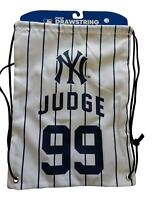 Aaron Judge #99 Jersey Drawstring Backpack Bag MLB New York Yankees Baseball