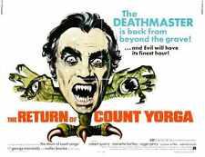 Retorno De Count Yorga Cartel 02 A4 10x8 impresión fotográfica