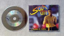 "CD AUDIO INT/ CHARLES D. LEWIS ""SOCA CITY"" CD MAXI 1990 BAXTER MUSIC 879 169-2"