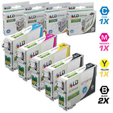 LD © Epson Remanufactured T126 Set of 5 HY Ink 2 T1261 1x T1262 T1263 T1264