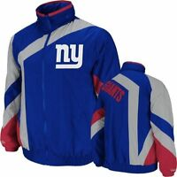 New York Giants Authentic Mitchell and Ness NFL Team Jacket Size M XL 2XL 4XL