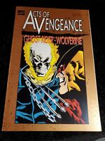 WOLVERINE & GHOST RIDER ACTS OF VENGEANCE  TPB MARVEL COMICS (1993)GRAPHIC NOVEL