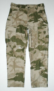 CABELAS Camouflage Hunting Cargo Pants Outdoor Fishing Camo Mens NEW Sz 36 Reg