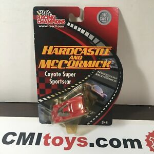 Racing Champions ERTL Hardcastle And McCormick Coyote Die-cast 2002 1/64 NEW