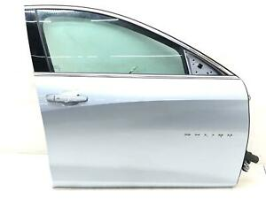2016-2019 CHEVY MALIBU RIGHT FRONT DOOR SHELL W/ AUTO DOWN BLUE (413B) OEM 2017