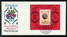 Jamaica Scott #503 FIRST DAY COVER Prince Charles Lady Diana Wedding $$