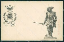 Militari VI Reggimento Bersaglieri Alessandro La Marmora cartolina XF1041