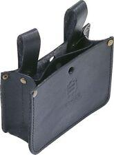Triuso Nageltasche Nagelhalfter Schraubentasche schwarz mit 2 Fächern