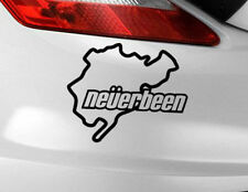 Nurburgring Adesivo Decalcomania Vinile Auto Finestra JDM Divertente VW BMW Neverbeen PARAURTI
