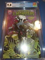 X-men #13 Monsters Variant CGC 9.8 NM/M Gorgeous gem Wow