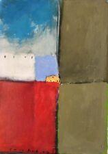 Thierry ROUXEL 1949.Sans titre.Huile sur toile marouflée/isorel.SBG.2007.52x37