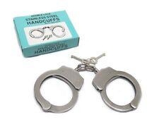 Manette Professionali in Acciaio Inox uso Polizia Vigilanza Softair handcuffs