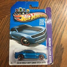 Mattel Hot Wheels 2013 Auto Show Chevy Camaro Special Edition - Red Line Tires
