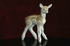 Vintage 1952-1962  DULEVO Russian- Deer baby ~ China / Porcelain Figurine