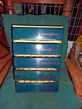 Vintage 5 tier Johnson&Johnson Storage display first aid wall mount Case