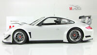 Scale car 1:18, PORSCHE 911 GT3R - STREET - 2010 - WHITE