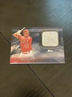 "2021 Topps Series 1 Mike Trout ""BLUE"" 70th Anniversary Patch - Rare!"