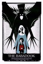 The Babadook Book Art Print Movie Poster Alex Juhasz Jennifer Kent Pop Up Horror
