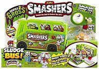 ZURU SMASHERS, Smash Ball Sludge Bus - Auldey Smashers Bus Series 2 - 7418