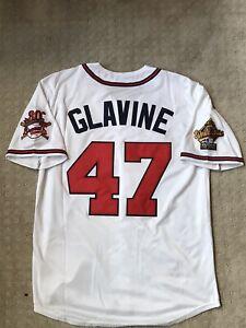 Tom Glavine World Series Jersey