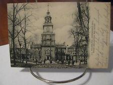 """1905 """"Independence Hall - Philadelphia"""" Postcard"""