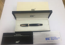 Montblanc 5096 Boheme Rouge Red Ruby Black/Gold Rollerball Cap Pen w/Box - New