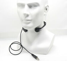 Z003 Z-TACTICAL THROAT MIC Adjustable Acoustic Tube Headset Wargame Miltary
