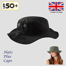 UPF 50+ Sun Hat Bucket Cargo Safari Bush Boonie Summer Fishing Hat 5 Colours