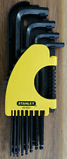 Stanley 12 Piece SAE Long Arm Ball Point Hex Allen Key Set