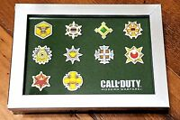 Call of Duty Modern Warfare PRESTIGE ICON PATCHES (FRAMED) - NEW EXCLUSIVE PROMO