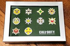 NEW Call of Duty Modern Warfare PRESTIGE ICON PATCHES (FRAMED) -EXCLUSIVE PROMO