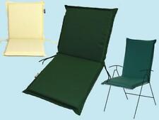 Cuscino Cuscini modello Zippo Schienale bassoVerde sedie sedia giardino giardini