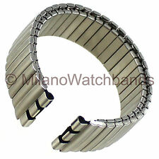 17mm Morellato Silver Tone Matte Finish Stainless Steel Watch Band Fits Swatch
