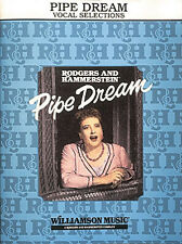 Pipe Dream Musical Vocal Piano Sheet Music Lyrics 7 Songs Hal Leonard Book