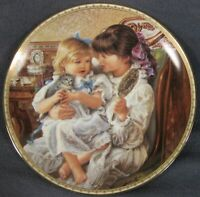 Sisters Collector Plate Sandra Kuck Second Sugar and Spice Reco 84-R60-45.2