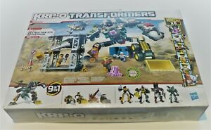 KRE-O Transformers - Destruction Site Devastator (36951)-560 Pcs Brand NEW Age5+
