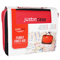 Justin Case FAMILY FIRST AID KIT Attractive Case HOME CAR BOAT Compact Travel