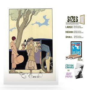 FRENCH ART GEORGE BARBIER ALMANAC ILLUSTRATIONS DEADLY SINS DECCO SEVEN 3