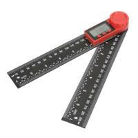 Righello digitale per goniometro con indicatore dell'angolo fibra di carbonio