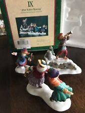 Dickens Twelve Days Of Christmas Nine Ladies Dancing